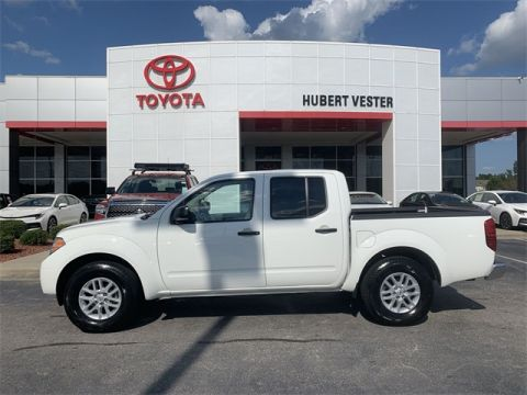 Pre-Owned 2019 Nissan Frontier SV RWD 4D Crew Cab