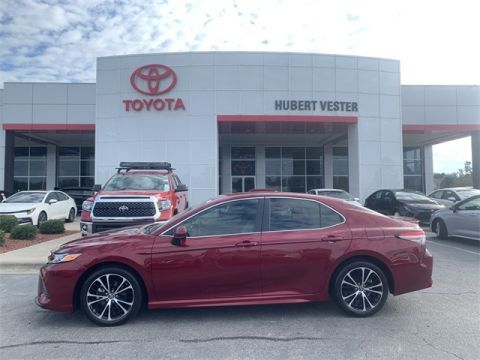 Certified Pre-Owned 2018 Toyota Camry SE FWD 4D Sedan
